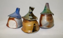 Bottles, Soda Fired, 2016