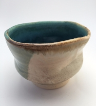 Cup, cone 6 oxidation, 2017